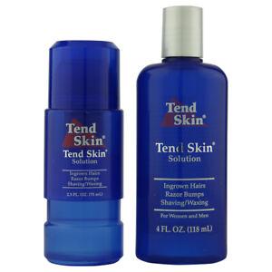 TWIN PACK - Tend Skin Ingrown Hair Treatment Solution - 118ml + 75ml