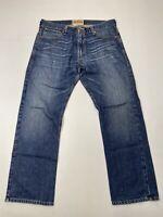 LEVI'S 514 Slim Straight Jeans - W36 L31 - Blue - Great Condition - Men's