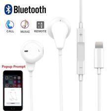 Popup Prompt Lightning & BLUETOOTH HIFI Stereo Headphones Earphones For iPhone