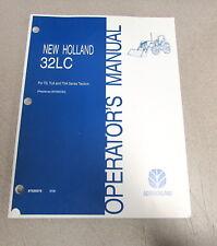New Holland 32LC Front Loader TD TLA TNA Series Tractors Operators Manual 2006
