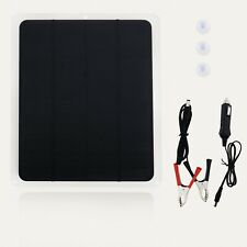 Solar Cells Charger Panel Battery Trickle Charger Maintainer for Motorcycle Boat