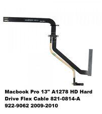 """13"""" pulgadas Apple Macbook Pro 5,5 7,1 A1278 Cable de unidad de disco duro HDD 821-0814-A 2009 2010"""