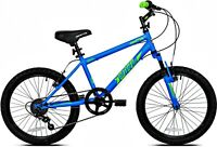 New 20 Inch Crossfire Boys Bike, Blue, For Height Sizes 42 and Up