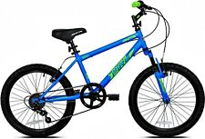 20 Inch Crossfire Boys Bike, Blue, For Height Sizes 42 and Up