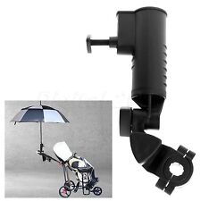 Universal Golf Umbrella Holder Stand Adjustable for Buggy Golf Cart or Fishing