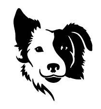 Collie Dog vinyl car Decal / Sticker