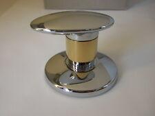 JADO Displays Mehrwegventil H2875F2 Chrom/Gold Edelmessing Sichtteil Wandeinbau