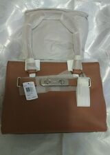 COACH SWAGGER CARRYALL in pebble leather Woman's Handbag Leather Medium NWT