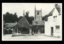 Wilts Wiltshire CASTLE COMBE Castle Inn Judges Proof card RP plain back