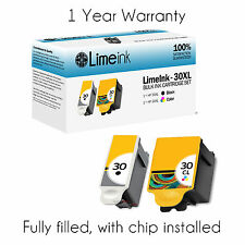 2 pack For Kodak 30XL 30 XL Ink Cartridges ESP 3.2 C310 C315 2150 2170 Printer