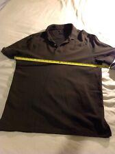 Massimo Dutti XXL Dark Khaki Green Polo Shirt Fred perry