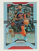 2019-20 Panini Prizm SILVER PRIZM REFRACTOR 185 PAUL GEORGE Los Angeles Clippers