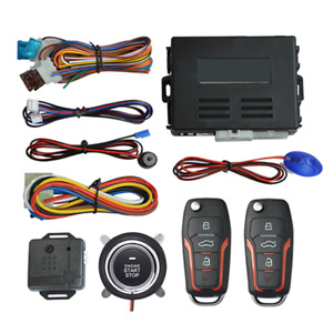 Car Ignition Switch DC 12V Engine Start Push Button Keyless Entry Starter Kit