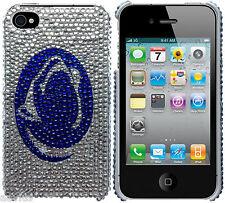 Bling Glitter Penn State Nittany Hard Case For iPhone 4 G 4S AT&T Sprint Version