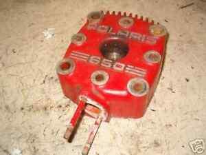 POLARIS INDY 650 CYLINDER HEAD NICE SHAPE