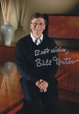 Bill Gates ++ Autogramm ++ Microsoft ++ Autograph