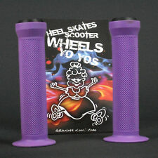 GK Scooter Handlebar Grips Purple includes bar ends