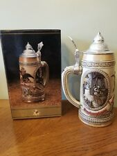 Tomorrow's Treasures Collectible Anheuser Busch Lidded, Beer Stein, A Series,