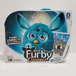 NIB Furby Connect Exclusive Launch Hasbro Bluetooth Teal Blue W/ Original Box