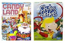 Hasbro Candyland and Chutes Ladders Board Games
