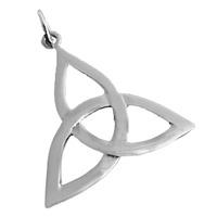 Keltischer Dreifaltigkeits Trinity Anhänger 925er Silber Symbol Schmuck NEU