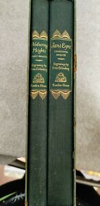 1943 Wuthering Heights and Jane Eyre Book Set by Random House