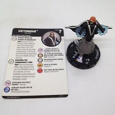 Heroclix Marvel's What If? set Victorious #032 Rare figure w/card!