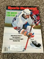 Sports Illustrated 1984 Mike Bossy Islanders Hockey