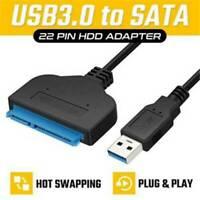 "USB 3.0 to 2.5"" SATA III Hard Drive Adapter Cable  SATA To USB 3.0 Converter .s"