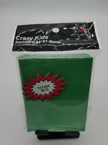 Standard Size 66x91mm Card Game Cards Sleeves,Double Matte Trading (50) New