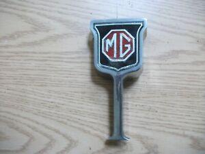 MG Midget Original Grille Badge Plinth  (GOOD)