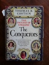 The Conquerors: Pageant of England by Thomas B. Costain 1949 HC-DJ 1st Ed (B11)