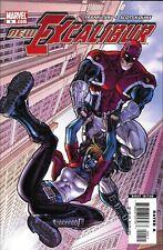 New Excalibur Comic Issue 9 Modern Age First Print 2006 Frank Tieri Scott Kolins