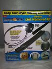 """Dryer MAX Vent  Duct Cleaning Lint Trap Removal Vacuum Kit"""" as seen on tv"""" (new) photo"""