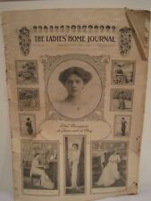1903 LADIES HOME JOURNAL -  Actress Ethel Barrymore cover and feature story