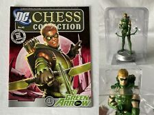 DC Comics Eaglemoss Chess Collection Issue: 43 Green Arrow White Pawn