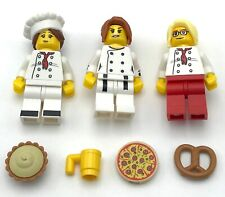 LEGO 50 NEW MICROFIGS LITTLE WHITE ANGRY MINIFIGURE GAME PIECES