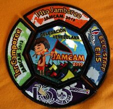 Boy Scouts Venezuela - Venezuela Badge delegation to JamCam 2013 Complete Set