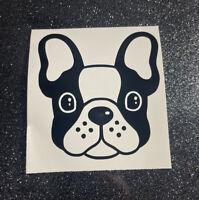 French Bulldog Vinyl Decal Sticker, Cute Frenchie, Dog Mom, Decal Car Window