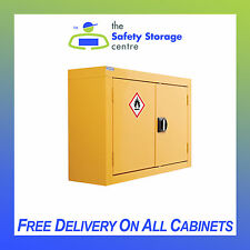 Wall Mounted Flammable Liquid Storage Cabinet H570 x W850 x D255mm