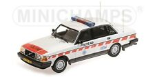 Volvo 240 Gl 1986 Politie Netherlands 1:18 Model MINICHAMPS