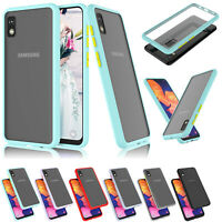 For Samsung Galaxy A10E A20 A21 A30 Case Shockproof Slim Skin Fitted Cover