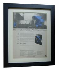 ALAN PARSONS+Pyramid+TOUR+POSTER AD+RARE+ORIGINAL+1978+FRAMED+FAST GLOBAL SHIP