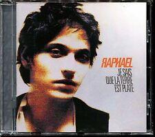 RAPHAEL - JE SAIS QUE LA TERRE EST PLATE - CD ALBUM [1940]