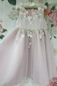 Pink Blossom Bridesmaid Party Occasion Dress 5-6 MONSOON £55 Worn Once