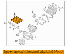 HYUNDAI OEM 16-17 Tucson-Cabin Air Filter 97133D1000