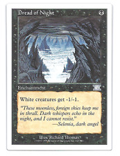 Dread of Night NM, English x 4  Sixth Edition  MTG magic