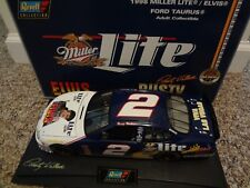 """1/18 Revell  RUSTY WALLACE  #2  MILLER LITE """"ELVIS""""  1998 Ford Taurus"""