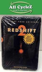 Redshift 2: Multimedia Astronomy CD-ROM for Windows/Macintosh Vintage! 1997 New!