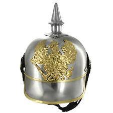 German Pickelhaube Military 20G Steel Helmet Replica
